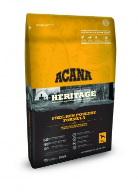 ACANA HERITAGE FREE RUN POULTRY 25 LB