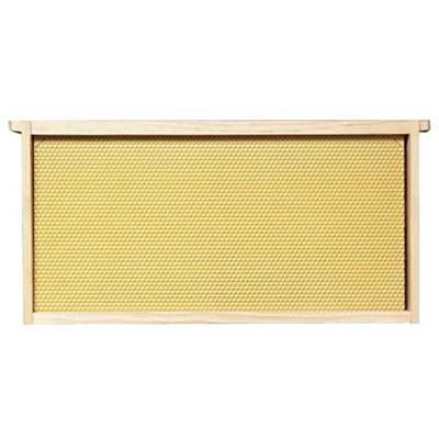 bee-hive-frame-assembled-9-1-8-in-yellow