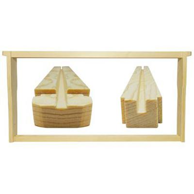 Bee Hive Frame Unassembled 9 1/8 In. Each