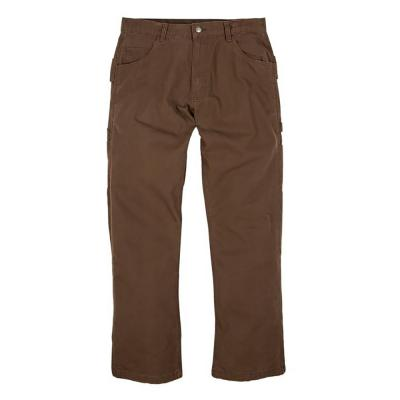 Berne Duck Carpenter Pant 32x34 Bark - Temporarily out of stock
