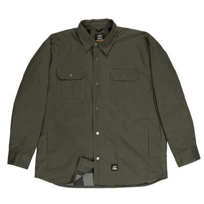 Berne Flannel Lined Duck Jacket XL Sage