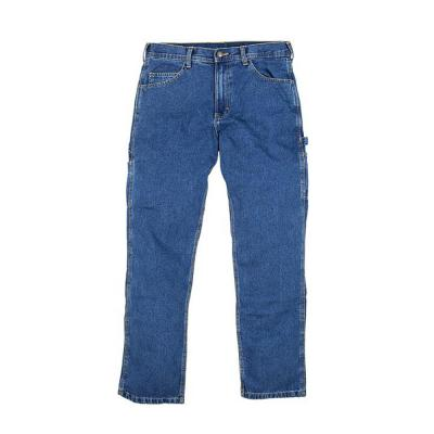 Berne Classic Carpenter Jean 38x30 Stone Washed Denim - Temporarily out of stock