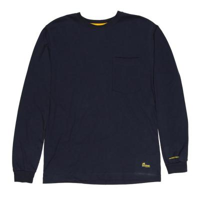 Berne Light Long Sleeve Tee LG Navy