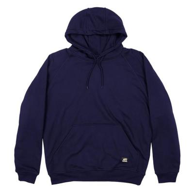 Berne Fleece Hooded Pullover LG Navy - Temporarily out of stock