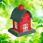 village-collection-red-barn-bird-feeder