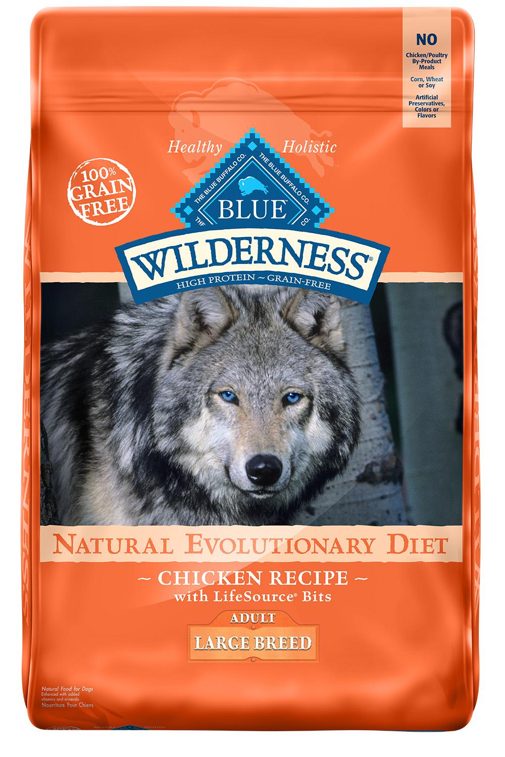 Blue Wilderness Lg Brd Adult Chicken 24 Lb