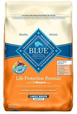 Blue Lg Brd Adult Chkn/Rice 30 lb.
