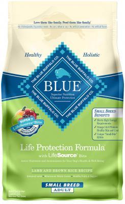Blue Sm Brd Adult Lamb/Rice 6 lb.