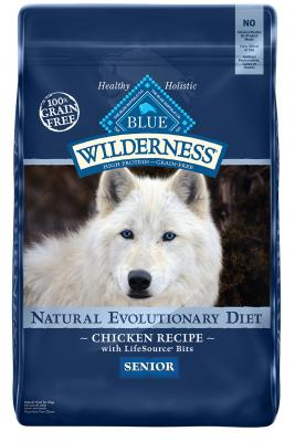 Blue Wilderness Senior Chicken 24 lb.