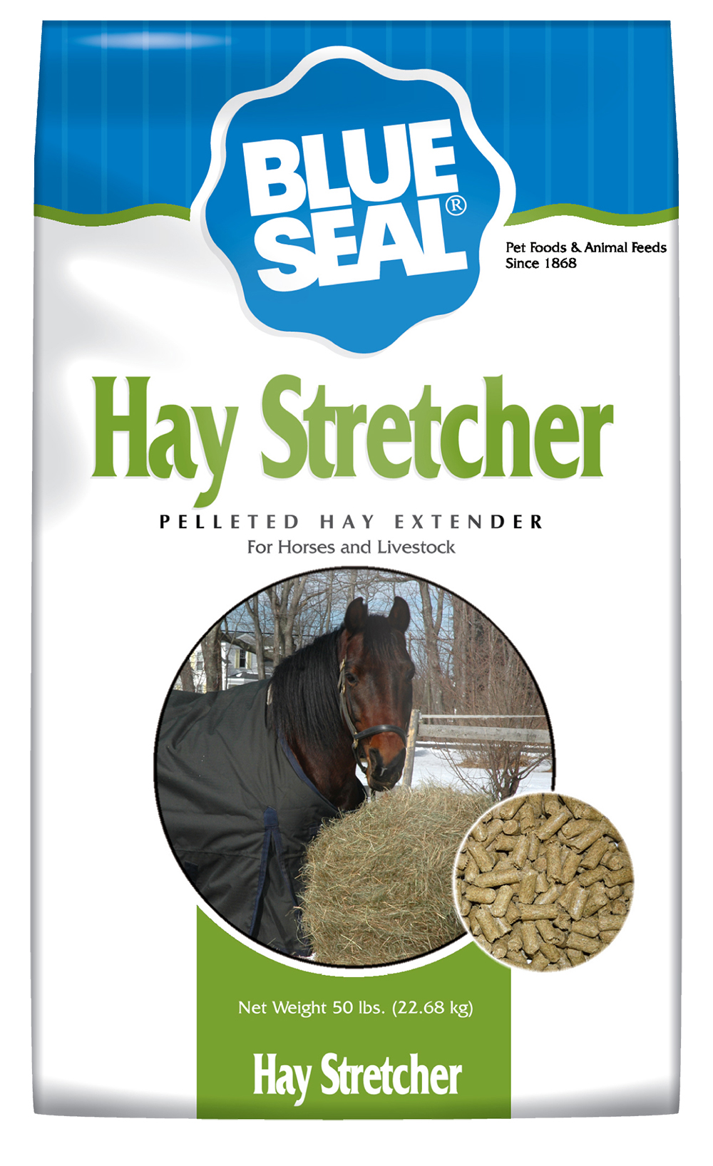 Royal Canin Puppy Food >> Blue Seal Hay Stretcher Pellet 50 lb.