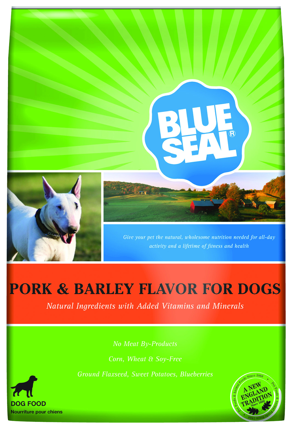 Blue Seal Pork & Barley Dog 40 lb.