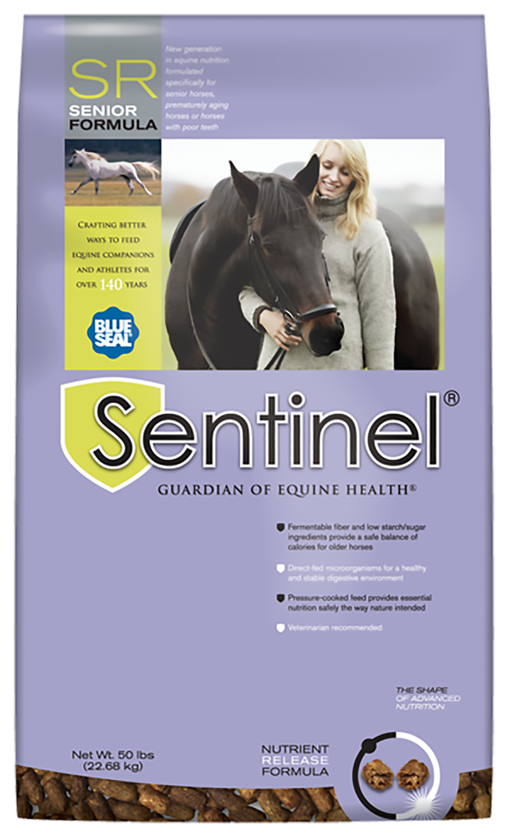 Blue Seal Sentinel Senior 50 Lb