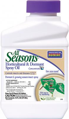 Bonide All Seasons Oil Concentrate 16 oz. - Temporarily out of stock
