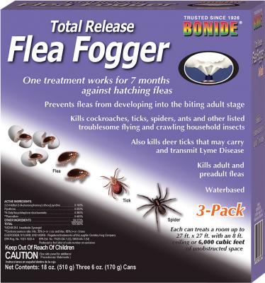 Bonide Flea Fogger 6 oz 3 Pack