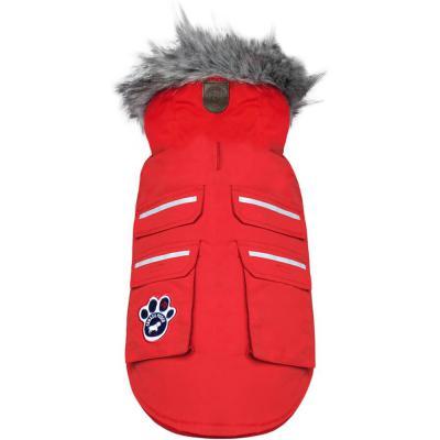 Canada Pooch Dog Jacket Everest Explorer Red Reflective 20 in.