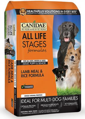 Canidae All Life Stages Lamb & Rice 15 lb.