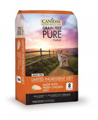 Canidae Pure Ridge Grain Free Chicken 24 lb.