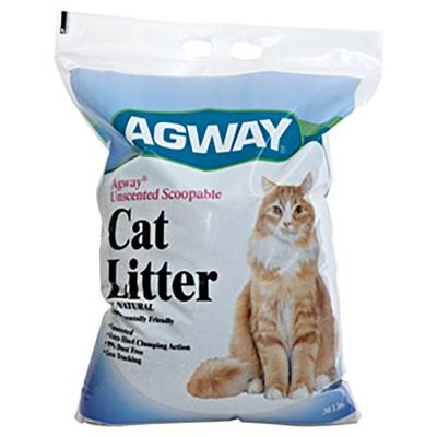 Agway Cat Litter Unscented Scoopable 30 lb. - Temporarily out of stock