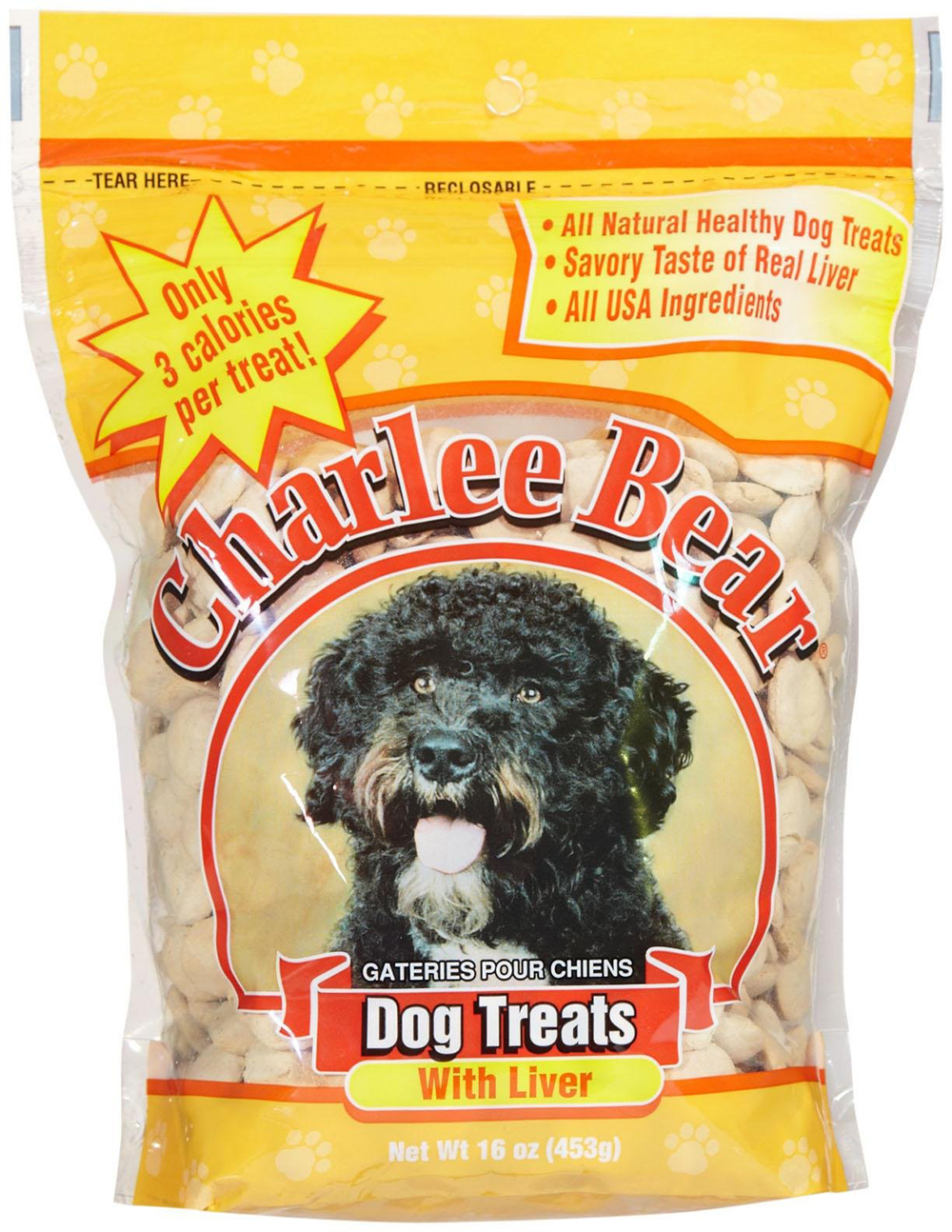 Royal Canin Puppy Food >> Charlee Bear Treats Liver 16 OZ