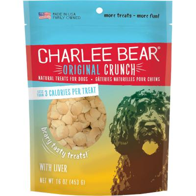 Charlee Bear Original Crunch Liver 16 oz