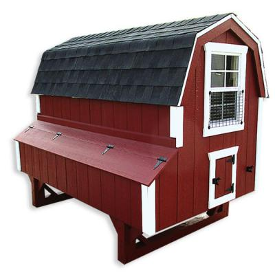 AMISH CHICKEN COOP DUTCH 4 FT X 6 FT - Special Order