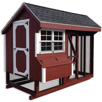 AMISH CHICKEN COOP SLED 4 FT X 6 FT