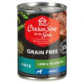 Chicken-Soup-Grain-Free-Dog-Lamb-Pea-Recipe-Pate_front