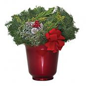 holiday-florence-urn-red-8-inch