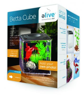 Elive betta cube 75 gal black for Fish antibiotics walmart