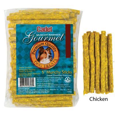 Cadet Chicken Rawhide Sticks 100 Count