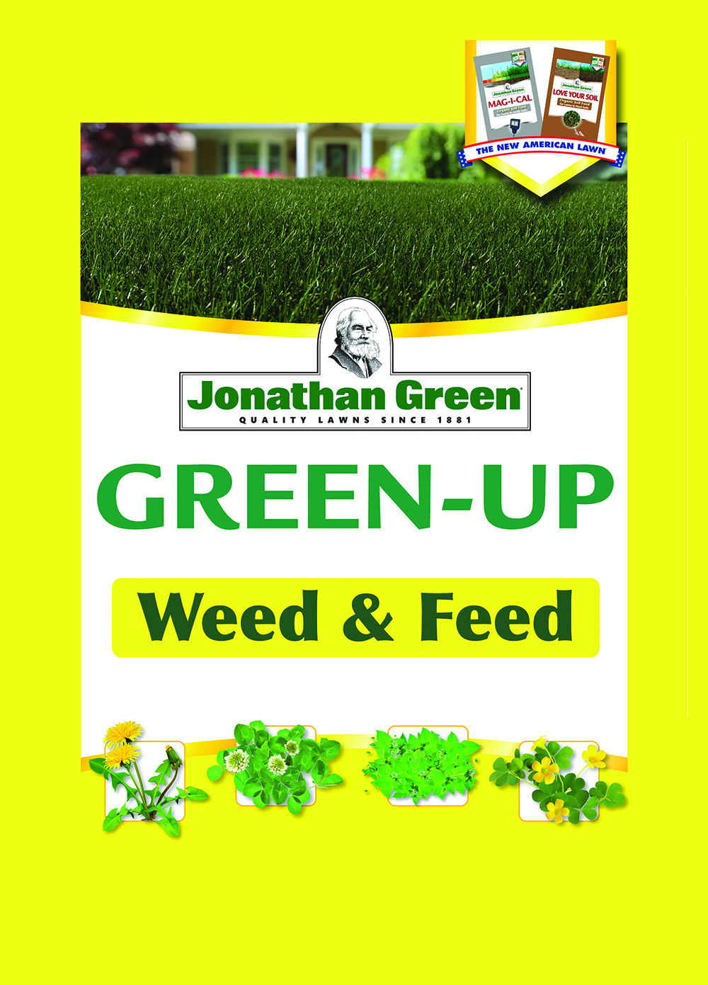 Taste Of The Wild Puppy Food >> Jonathan Green Green-Up Weed & Feed 5,000 Sq Ft