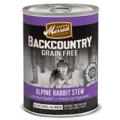Backcountry_Dog-Wet_HeartyRabbit_NoWeight_RedStone_Front