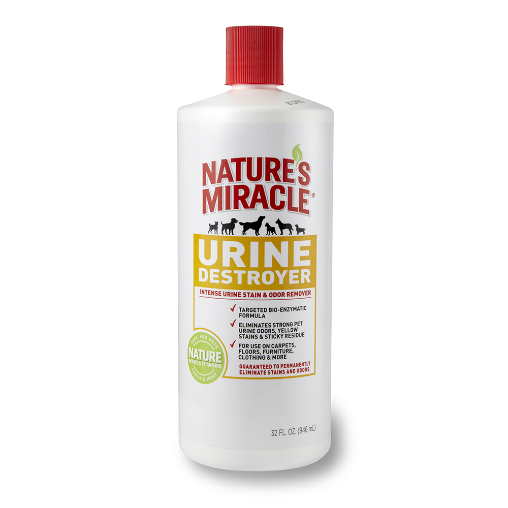 Dog Smell Of Rug: Natures Miracle Urine Destroyer 32 Oz