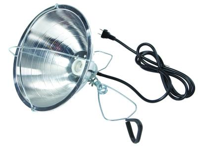 10.5 IN Brooder Reflector Lamp With Clamp