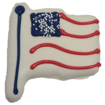 American Flag Biscuit
