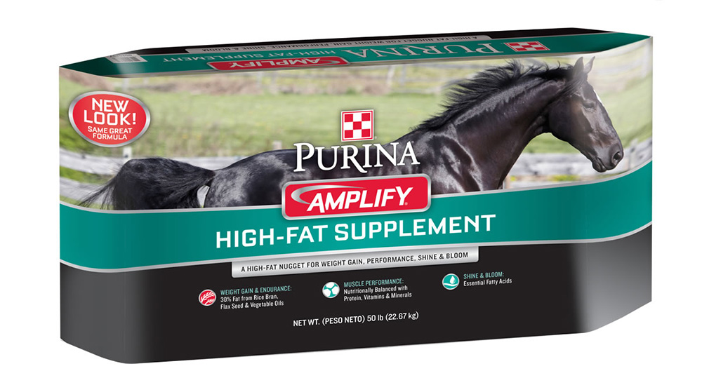Purina Amplify Equine Supplement 50 Lb