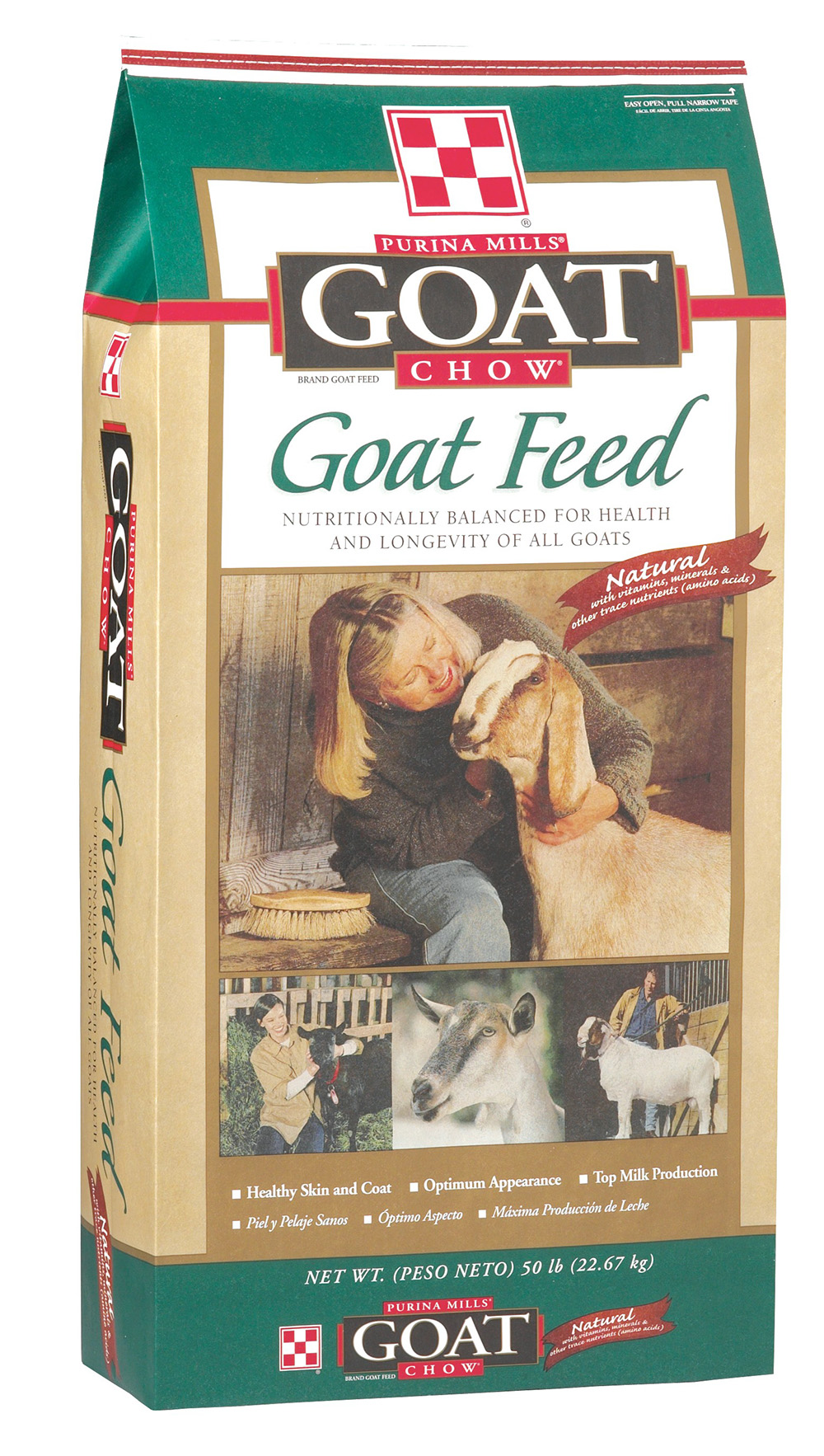 Blue Puppy Food >> Purina Goat Chow 50 lb.