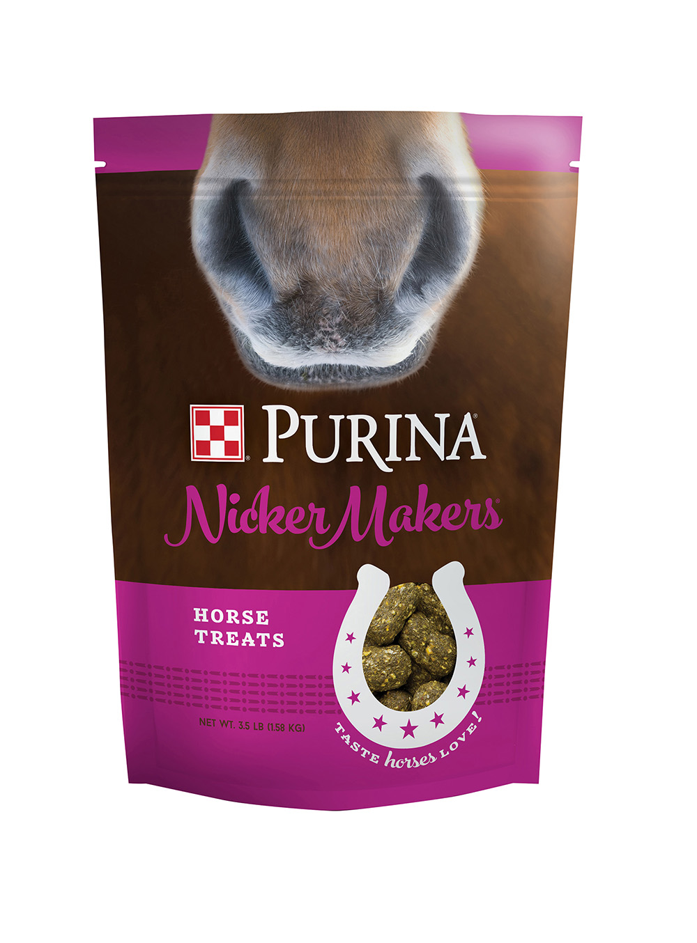 purina nicker makers horse treats 3 5 lb