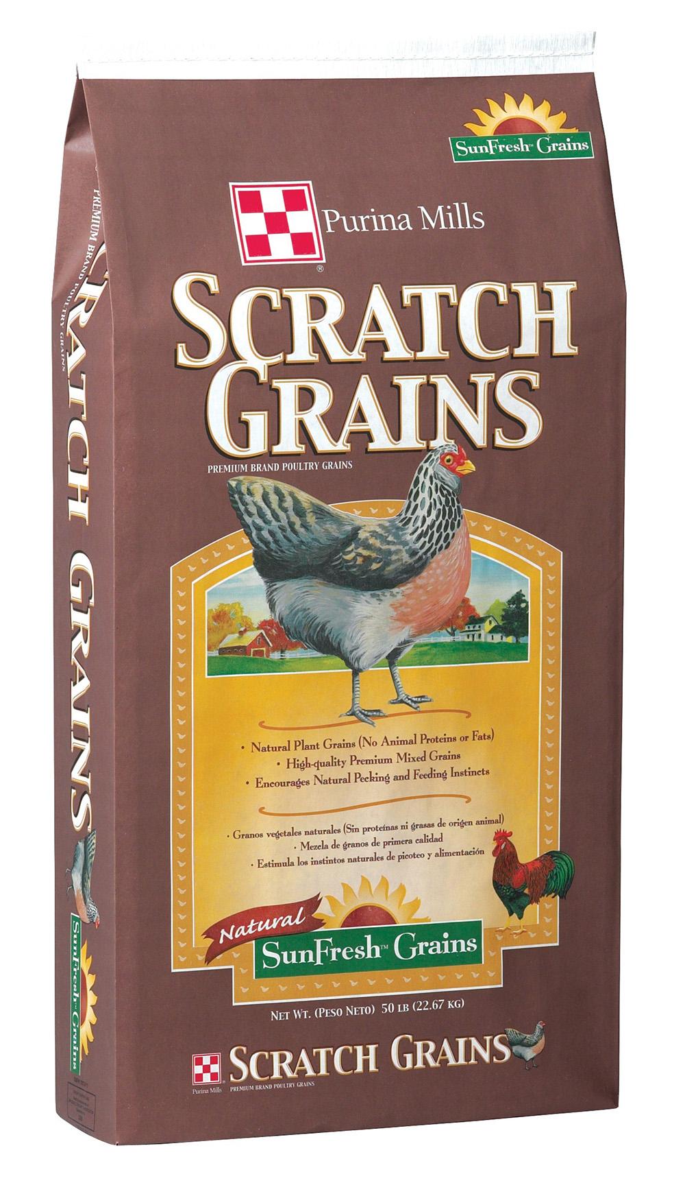 Taste Of The Wild Puppy Food >> Purina Scratch Grains 50 lb.