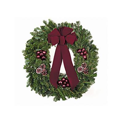 balsam-wreath-decorated
