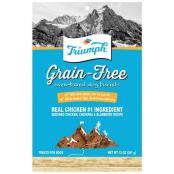 triumph_grain_free_biscuits_chicken_chickpea_blueberry_12oz