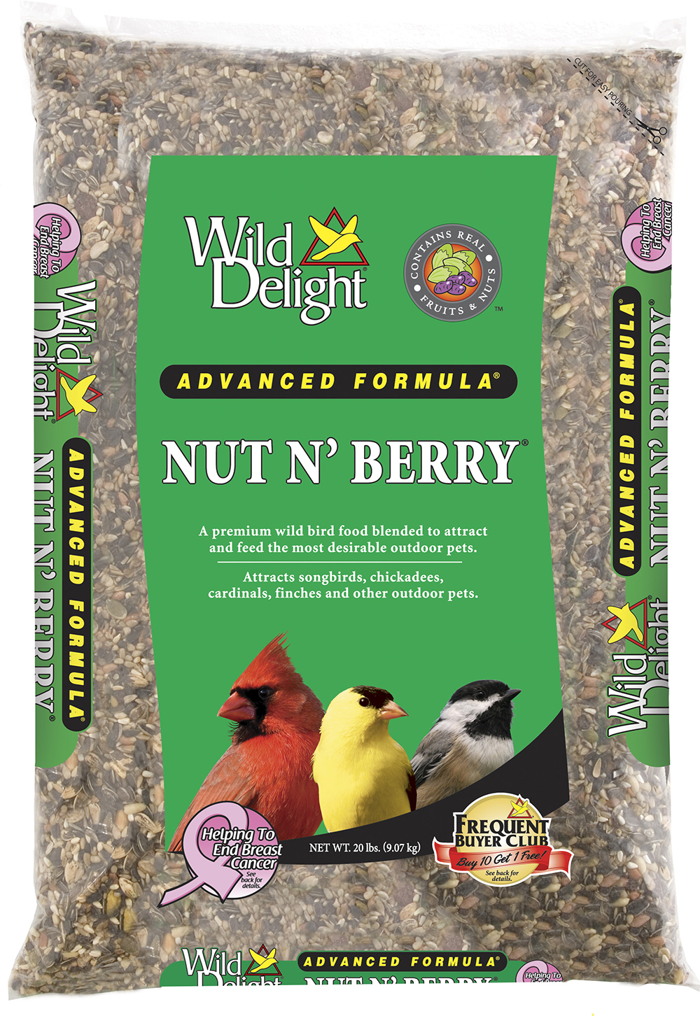 Wild Delight Nut N Berry 20 Lb